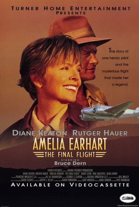Amelia Earhart: The Final Flight Movie Poster Print (27 x 40) - Item # MOVEH8601