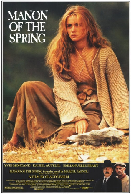 Manon of the Spring Movie Poster Print (27 x 40) - Item # MOVIF5318