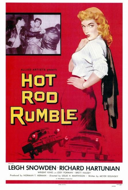 Hot Rod Rumble Movie Poster Print (27 x 40) - Item # MOVGF2182
