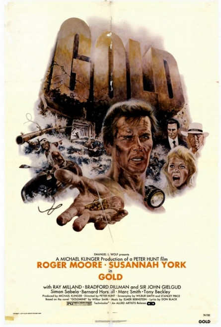 Gold Movie Poster Print (27 x 40) - Item # MOVIH4332