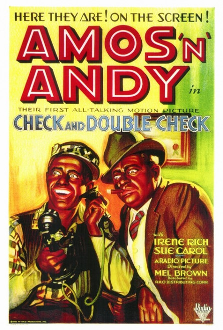 Check & Double Check Movie Poster Print (27 x 40) - Item # MOVIF4171