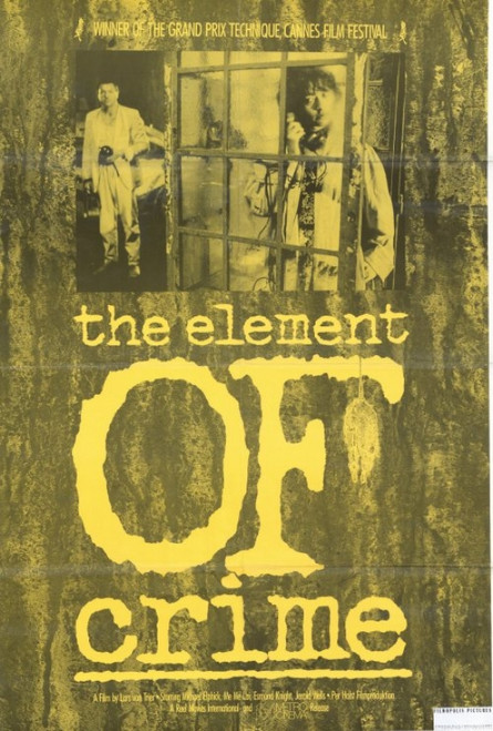 The Element Of Crime Movie Poster Print (27 x 40) - Item # MOVEF2399