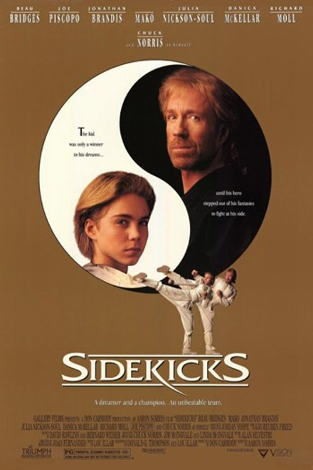 Sidekicks Movie Poster (11 x 17) - Item # MOV211077
