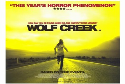 Wolf Creek Movie Poster (17 x 11) - Item # MOV348070