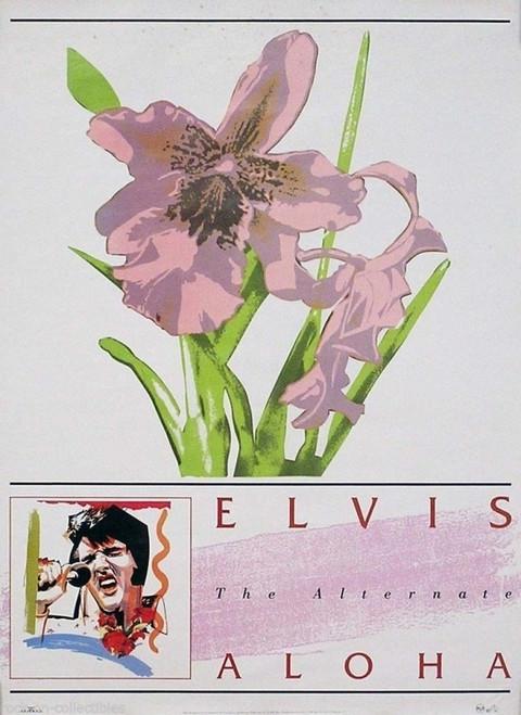 Elvis Presley The Alternate Aloha Poster - Item # RAR9992861