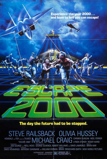 Escape 2000 Movie Poster Print (27 x 40) - Item # MOVGB05690