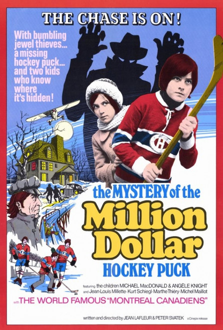 The Mystery of the Million Dollar Hockey Puck Movie Poster Print (27 x 40) - Item # MOVAF7373