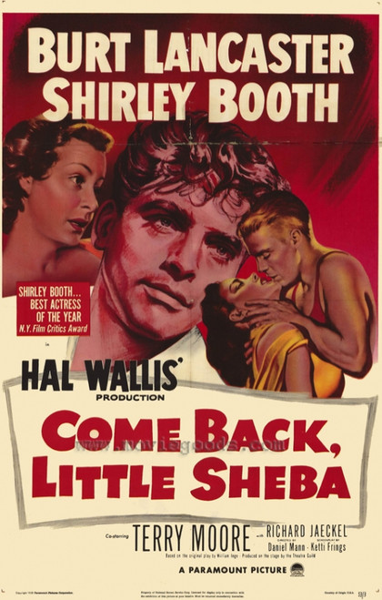 Come Back, Little Sheba Movie Poster Print (27 x 40) - Item # MOVCH3617