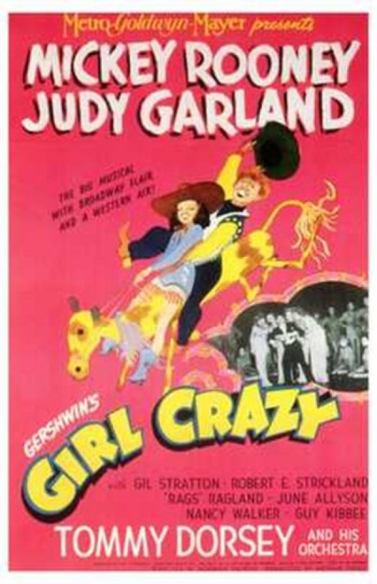 Girl Crazy Movie Poster (11 x 17) - Item # MOV199494