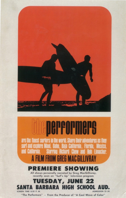 The Performers Movie Poster Print (27 x 40) - Item # MOVII6174