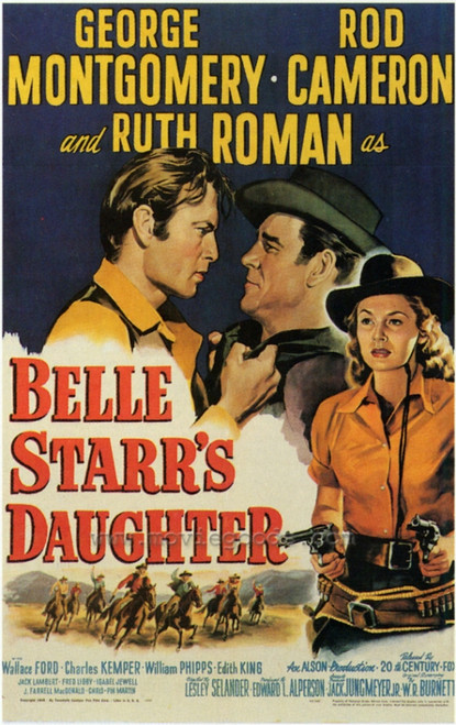Belle Starr's Daughter Movie Poster Print (27 x 40) - Item # MOVGF0351