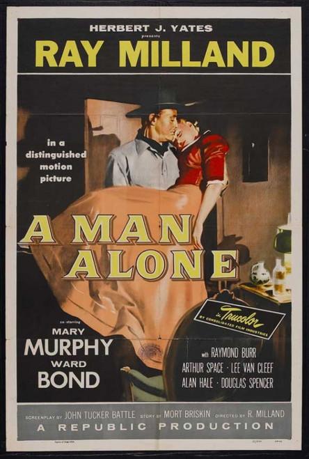 A Man Alone Movie Poster Print (27 x 40) - Item # MOVGJ3195