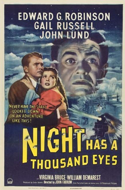 Night Has a Thousand Eyes Movie Poster (11 x 17) - Item # MOV417601