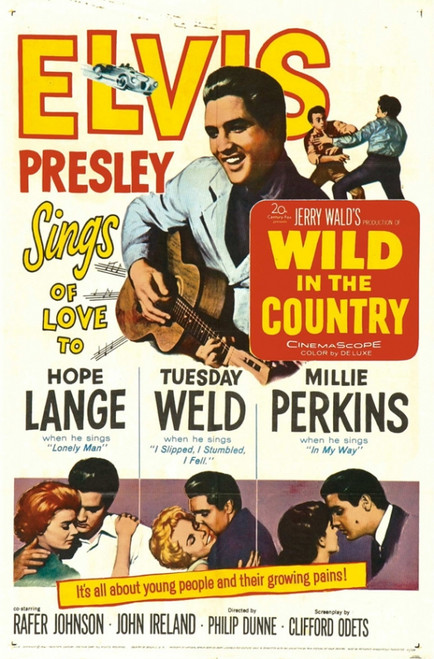 Wild in the Country Movie Poster Print (27 x 40) - Item # MOVCI4542