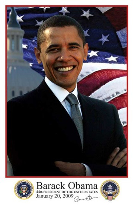 Barack Obama - Inauguration 2009 With Presidential Seals Movie Poster (11 x 17) - Item # MOV433897