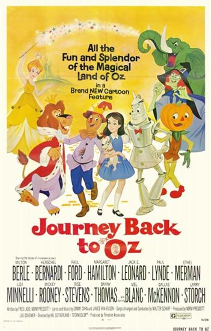 Journey Back to Oz Movie Poster (11 x 17) - Item # MOV253490