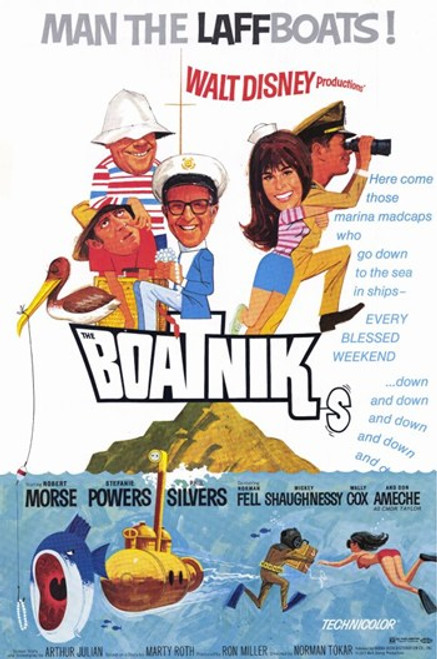 Boatniks Movie Poster (11 x 17) - Item # MOV232565