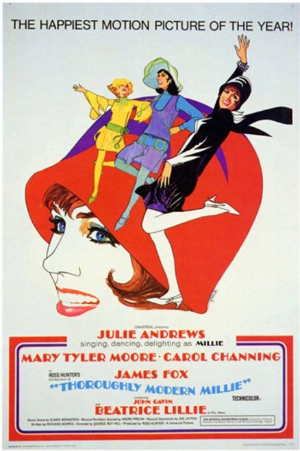 Thoroughly Modern Millie Movie Poster (11 x 17) - Item # MOV197138