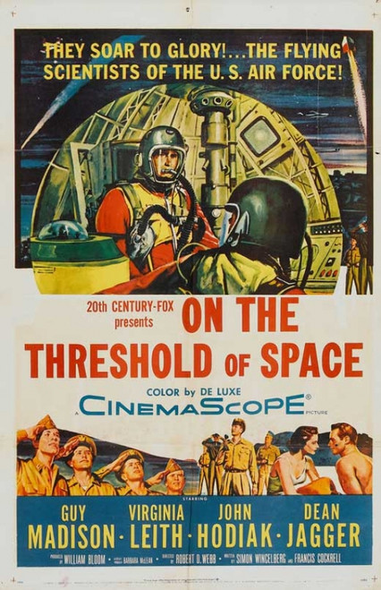 On the Threshold of Space Movie Poster Print (27 x 40) - Item # MOVGB58453