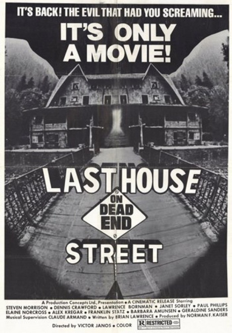 Last House on Dead End Street Movie Poster (11 x 17) - Item # MOV209307