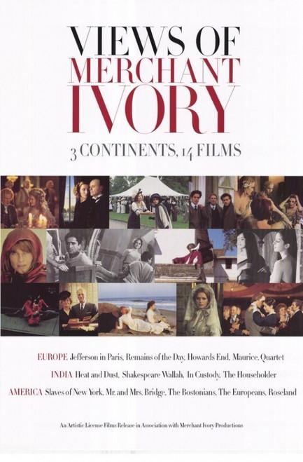 Views of Merchant Ivory Movie Poster Print (27 x 40) - Item # MOVIH5688