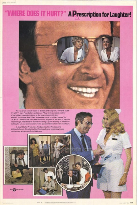 Where Does It Hurt Movie Poster Print (27 x 40) - Item # MOVAF0445