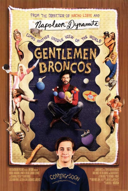 Gentleman Broncos Movie Poster Print (27 x 40) - Item # MOVGB39720