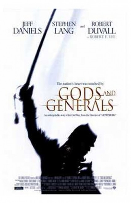 Gods and Generals Movie Poster (11 x 17) - Item # MOV200622