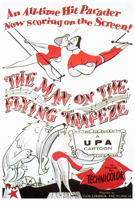 The Man on the Flying Trapeze Movie Poster Print (27 x 40) - Item # MOVEF3336