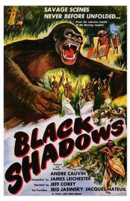 Black Shadows Movie Poster (11 x 17) - Item # MOV197264