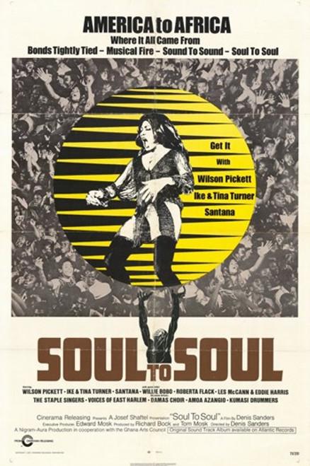 Soul to Soul Movie Poster (11 x 17) - Item # MOV249464