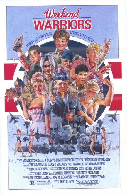 Weekend Warriors Movie Poster Print (27 x 40) - Item # MOVCF9366