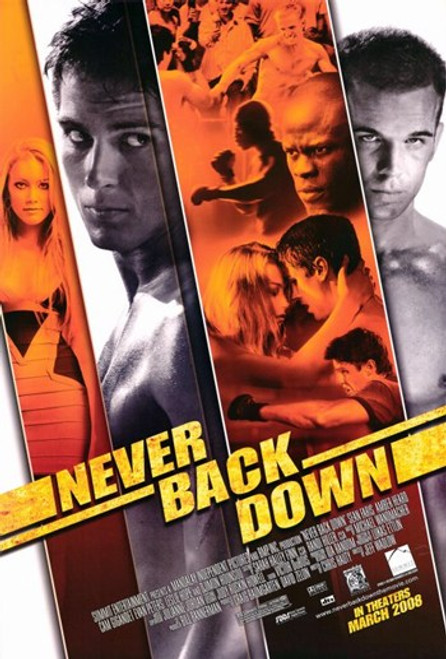 Never Back Down Movie Poster (11 x 17) - Item # MOV407076