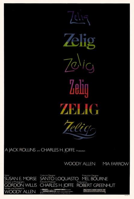 Zelig Movie Poster Print (27 x 40) - Item # MOVAF1406