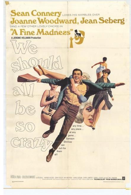 A Fine Madness Movie Poster Print (27 x 40) - Item # MOVGH3722