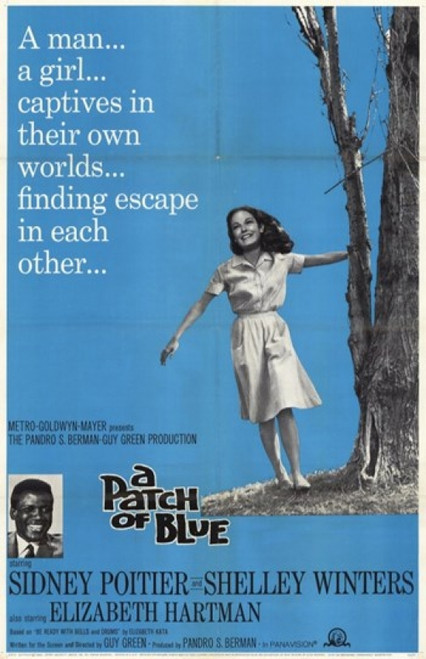 A Patch of Blue Movie Poster (11 x 17) - Item # MOV235475
