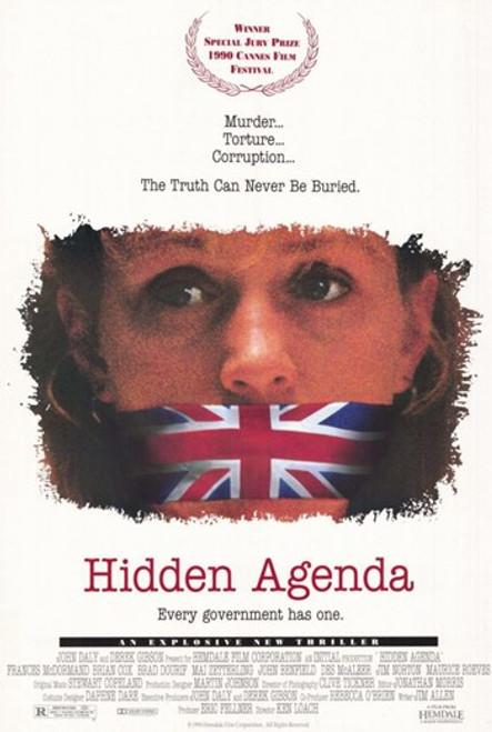Hidden Agenda Movie Poster (11 x 17) - Item # MOV203946