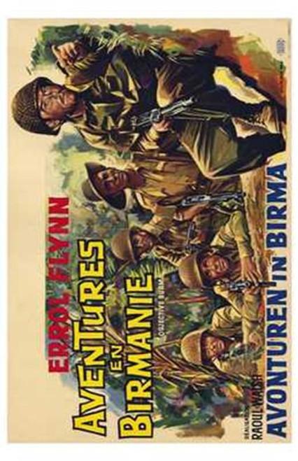 Objective Burma Movie Poster (11 x 17) - Item # MOV207679