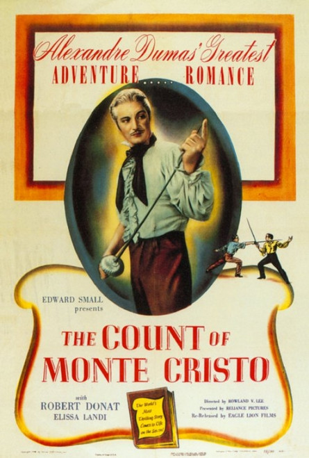 The Count of Monte Cristo Movie Poster Print (27 x 40) - Item # MOVGH4749