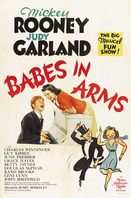 Babes in Arms Movie Poster (11 x 17) - Item # MOV416667