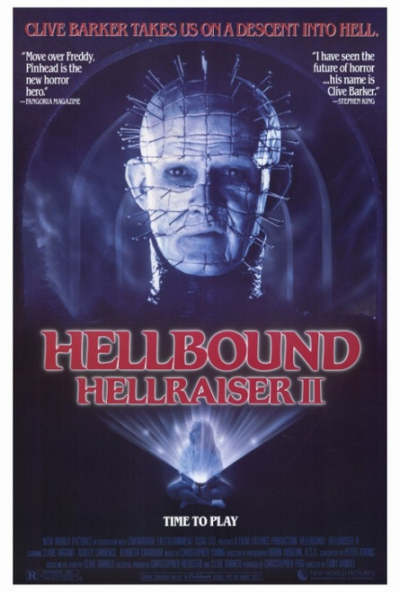 Hellbound: Hellraiser 2 Movie Poster Print (27 x 40) - Item # MOVIF8386