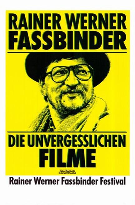 Rainer Werner Fassbinder Movie Poster (11 x 17) - Item # MOV283936