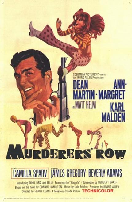 Murderers Row Movie Poster (11 x 17) - Item # MOV252036