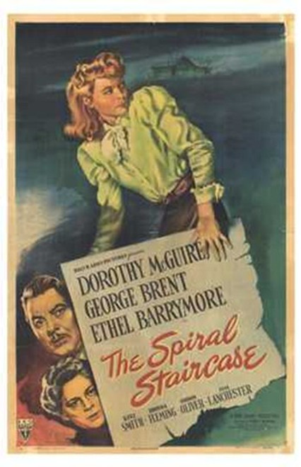 The Spiral Staircase Movie Poster (11 x 17) - Item # MOV254141