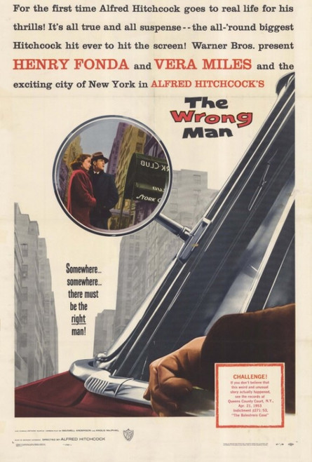 The Wrong Man Movie Poster Print (27 x 40) - Item # MOVCF3387