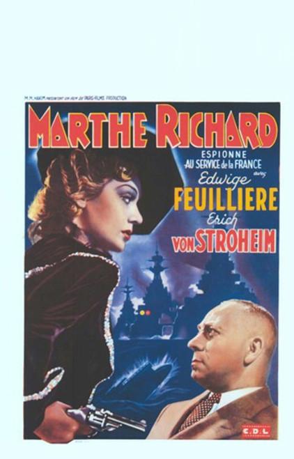 Marthe Richard Movie Poster (11 x 17) - Item # MOV412636
