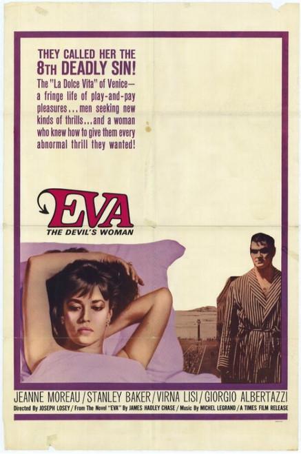 Eva, The Devil's Woman Movie Poster Print (27 x 40) - Item # MOVIH5646