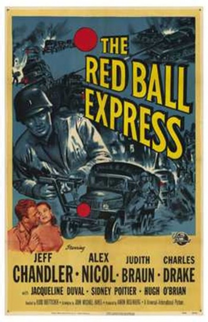 Red Ball Express Movie Poster (11 x 17) - Item # MOV235483