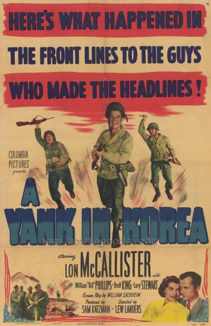 A Yank in Korea Movie Poster Print (27 x 40) - Item # MOVIF8380