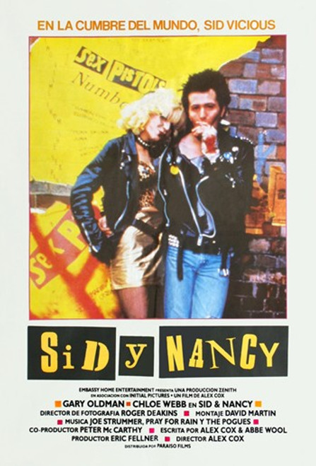 Sid and Nancy Movie Poster (11 x 17) - Item # MOV413480